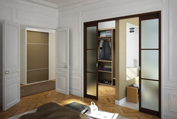 portes coulissantes sur mesure pour meuble placard. Black Bedroom Furniture Sets. Home Design Ideas
